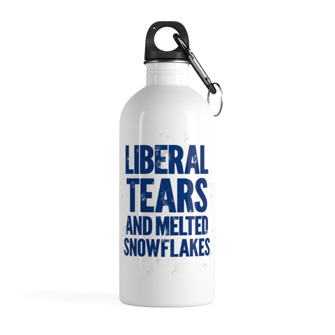 Liberal Tears Stainless Steel Water Bottle