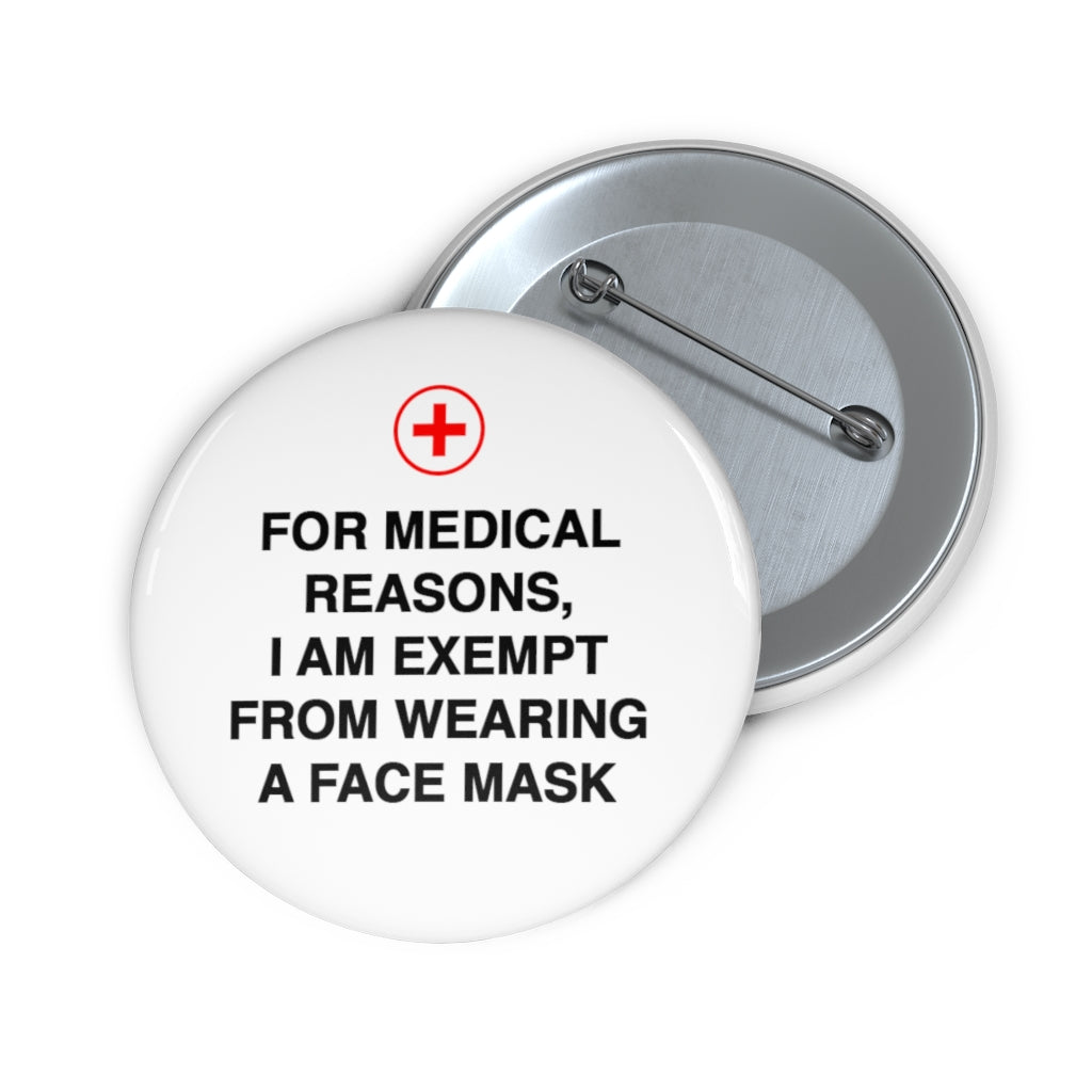 Exempt From Mask Pin