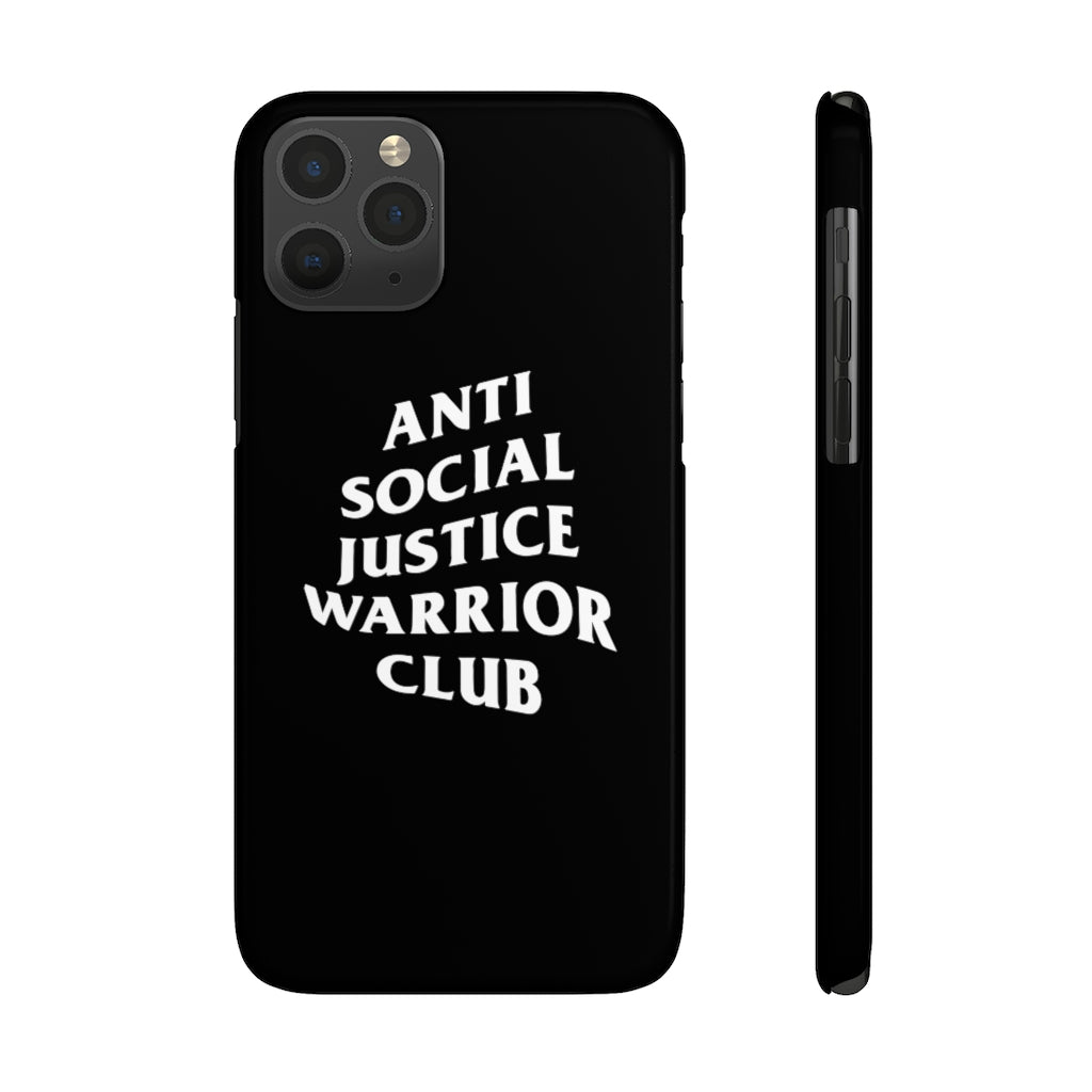 Anti Social Justice Warrior Club Phone Case
