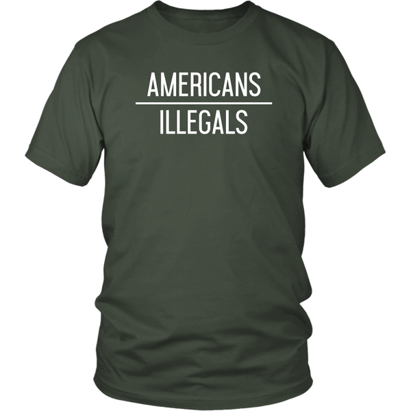 Americans Over Illegals - THE MAGA SHOP
