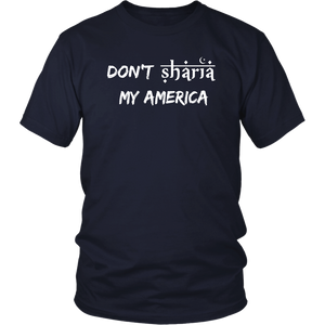 Don't Sharia My America