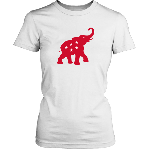 2020 GOP Elephant | Red on White