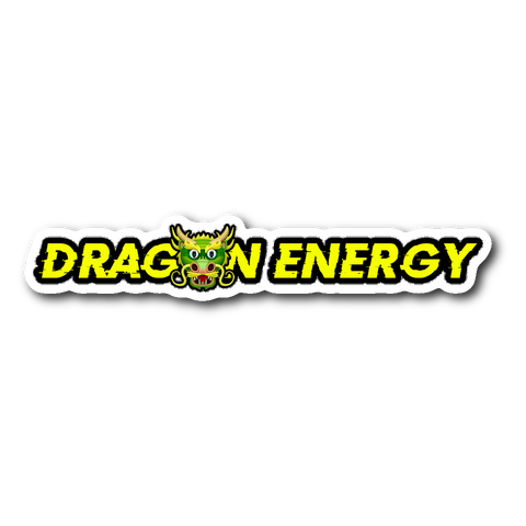 Dragon Energy Sticker - THE MAGA SHOP
