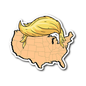 United States of Trump Sticker - THE MAGA SHOP