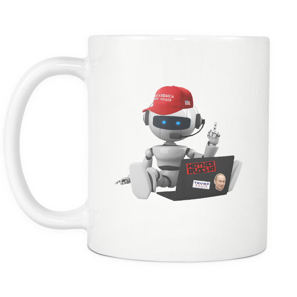 Russian Bot Mug - THE MAGA SHOP