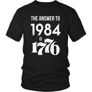 The Answer to 1984 is 1776