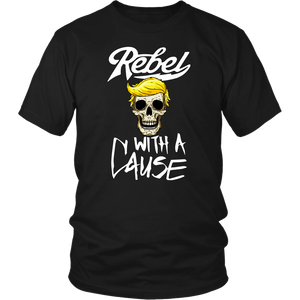 Rebel With A Cause (Black) - THE MAGA SHOP