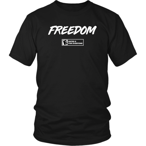 Freedom (Rated E For Everyone) - Black - THE MAGA SHOP