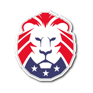 MAGA Lion Sticker - THE MAGA SHOP