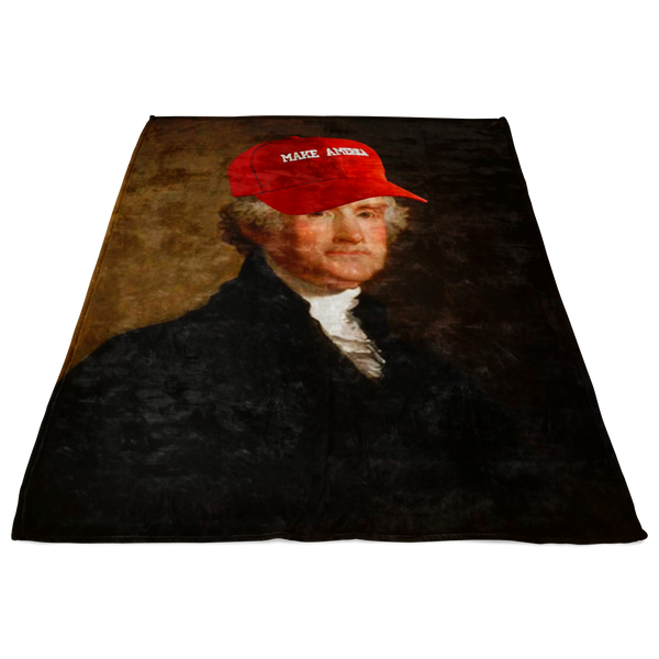Make America Fleece Blanket - THE MAGA SHOP
