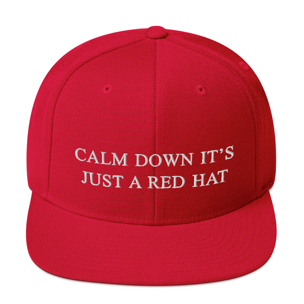 Just a Red Hat Snapback