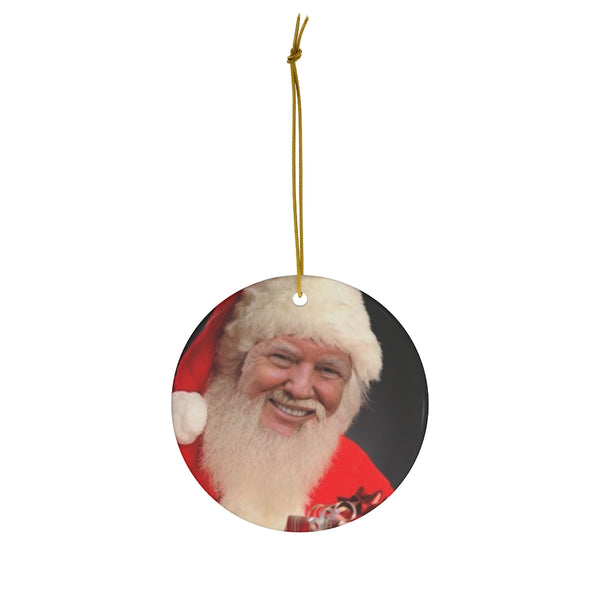 Santa Trump Ornament