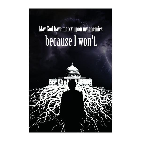 Trump vs The Swamp Poster - THE MAGA SHOP