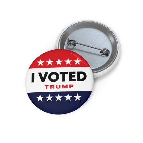I VOTED TRUMP Button