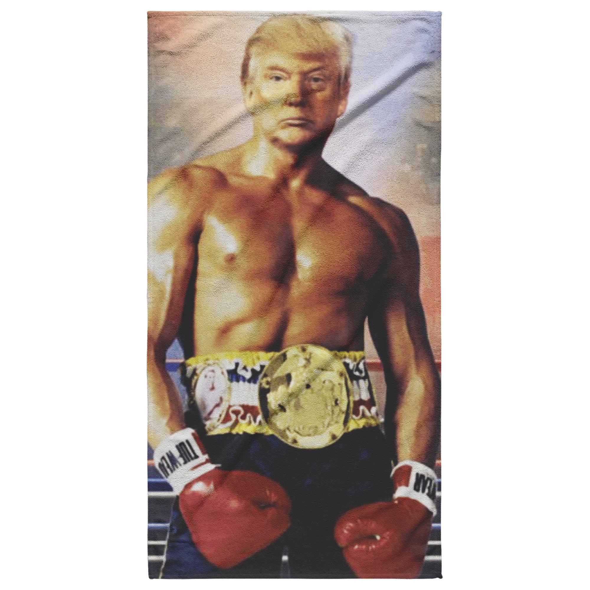 Trump Boxer Beach Towel