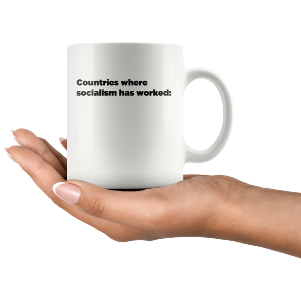 Countries Where Socialism Has Worked Mug