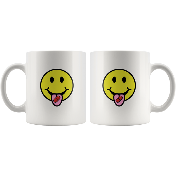 Red Pill Smiley Mug
