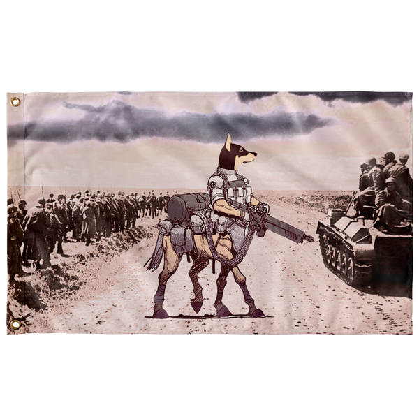 Dog-Faced Pony Soldier Flag