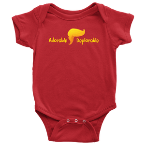 Adorable Deplorable Baby Onesie - THE MAGA SHOP