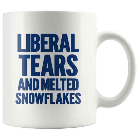 Lib Tears & Melted Snowflakes Mug - THE MAGA SHOP