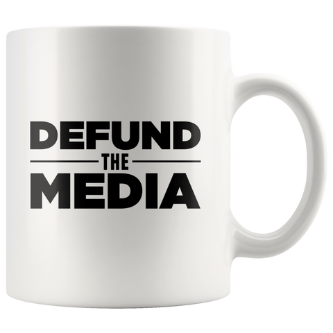 Defund The Media Mug