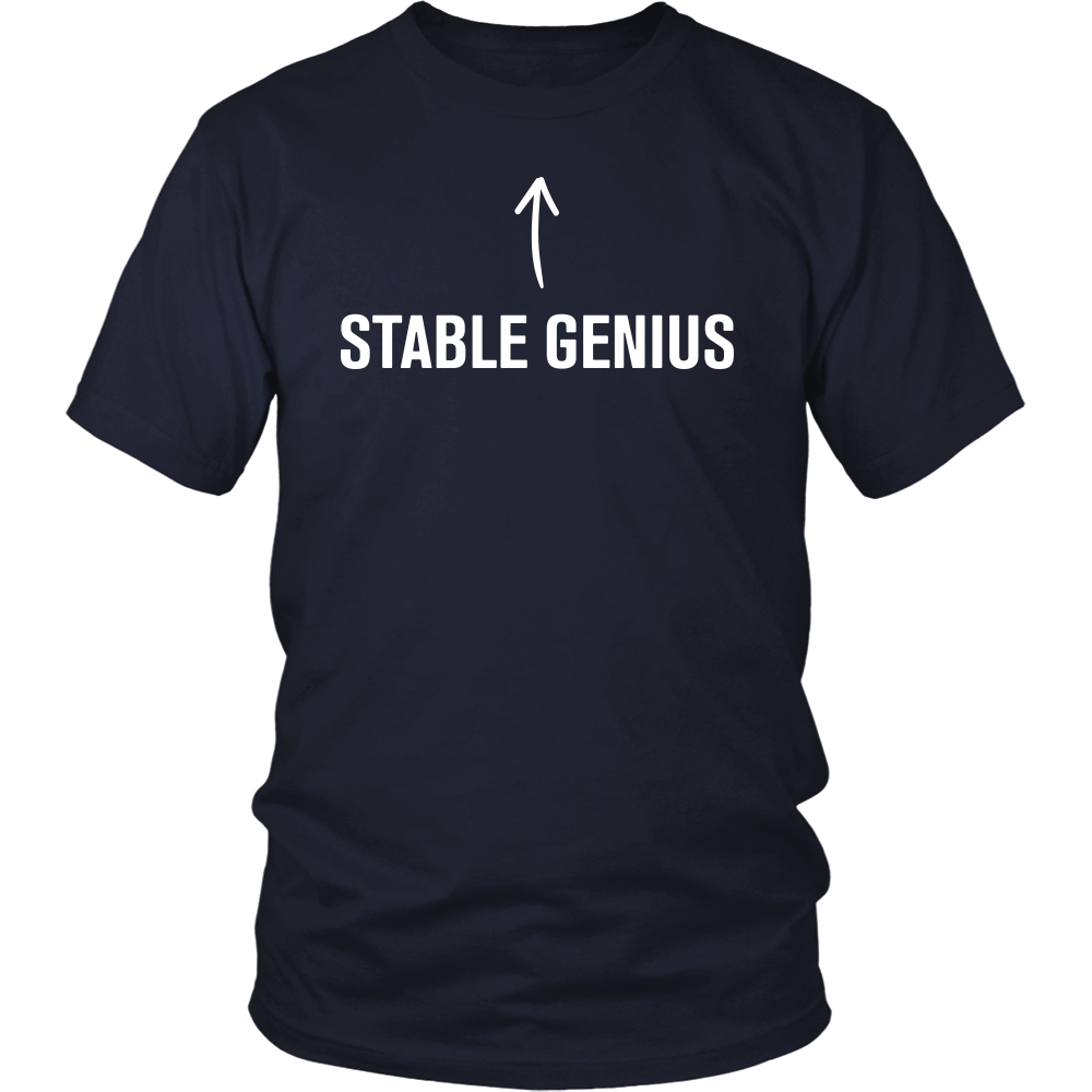 Stable Genius Tee - THE MAGA SHOP