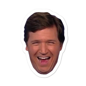 Tucker Laughing Sticker