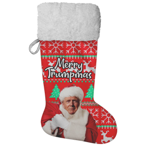 Merry Trumpmas Christmas Stocking