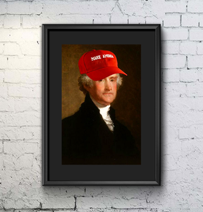Make America Poster - THE MAGA SHOP