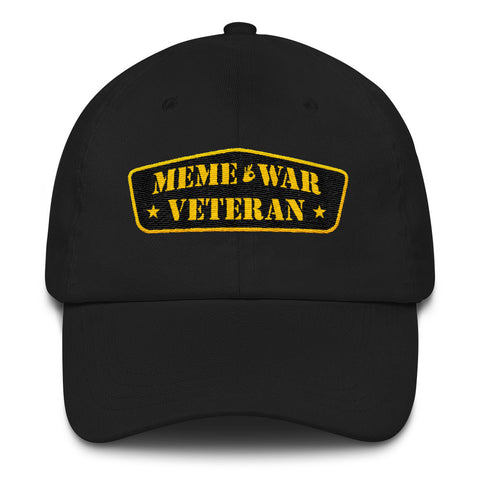 Meme War Veteran Dad Hat