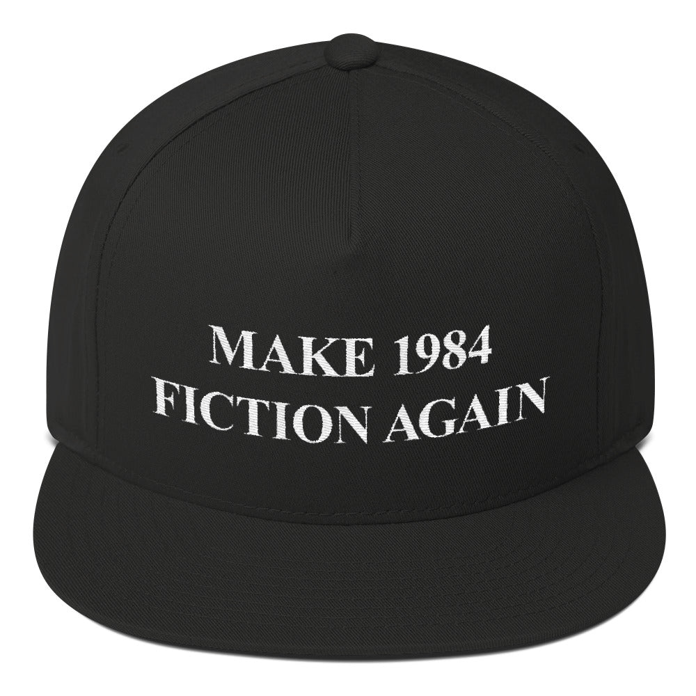 Make 1984 Fiction Again Snapback - THE MAGA SHOP
