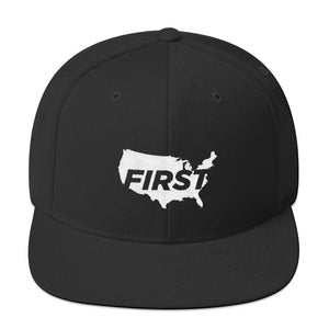 America First Map Snapback