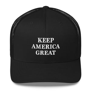 Keep America Great Trucker Hat - THE MAGA SHOP