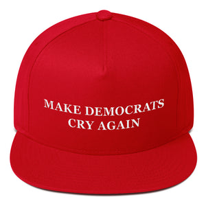 Make Democrats Cry Again Snapback - THE MAGA SHOP