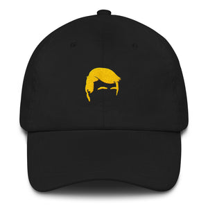 Golden Hair Dad Hat