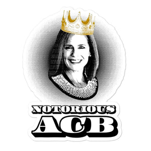Notorious A.C.B. Sticker