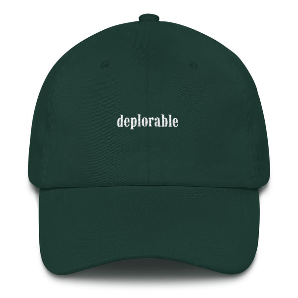 Deplorable Dad hat