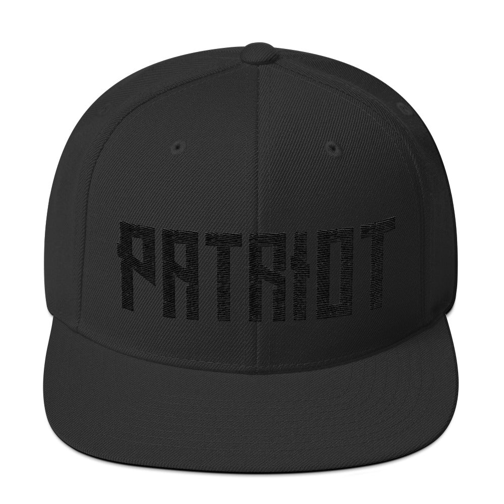 Patriot Embroidered Snapback