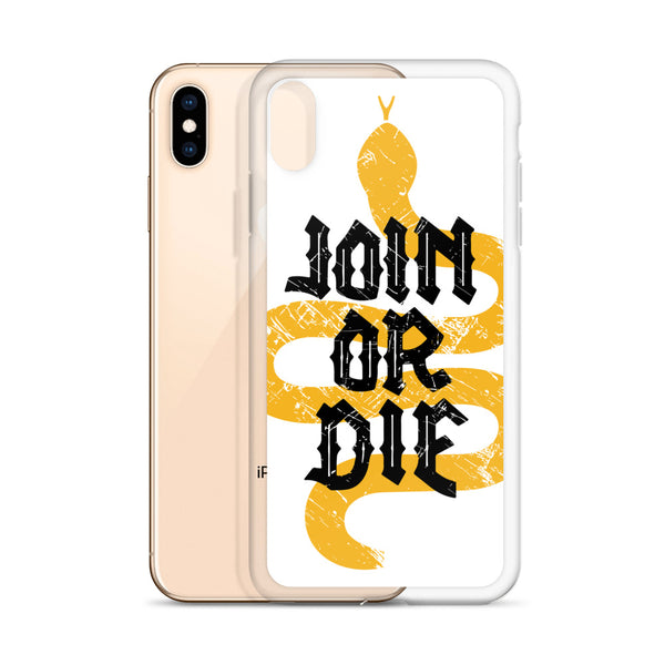 Join or Die iPhone Case