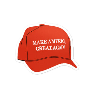 MAGA Hat Sticker