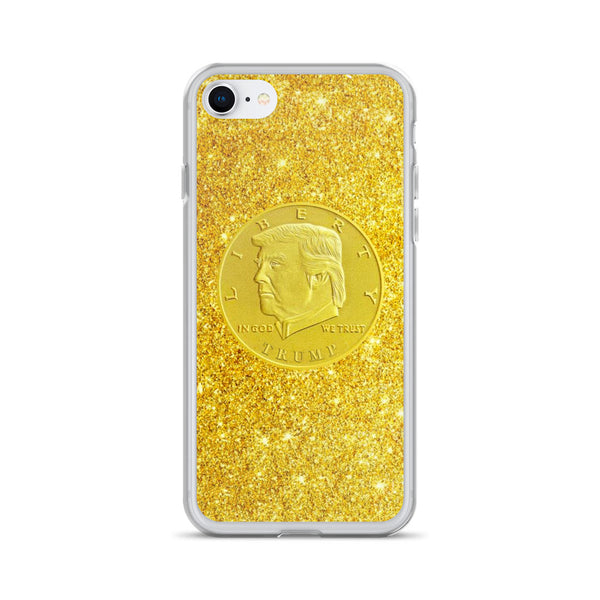 Trump Gold Coin iPhone Case
