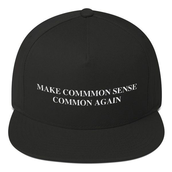 Make Common Sense Common Again Snapback