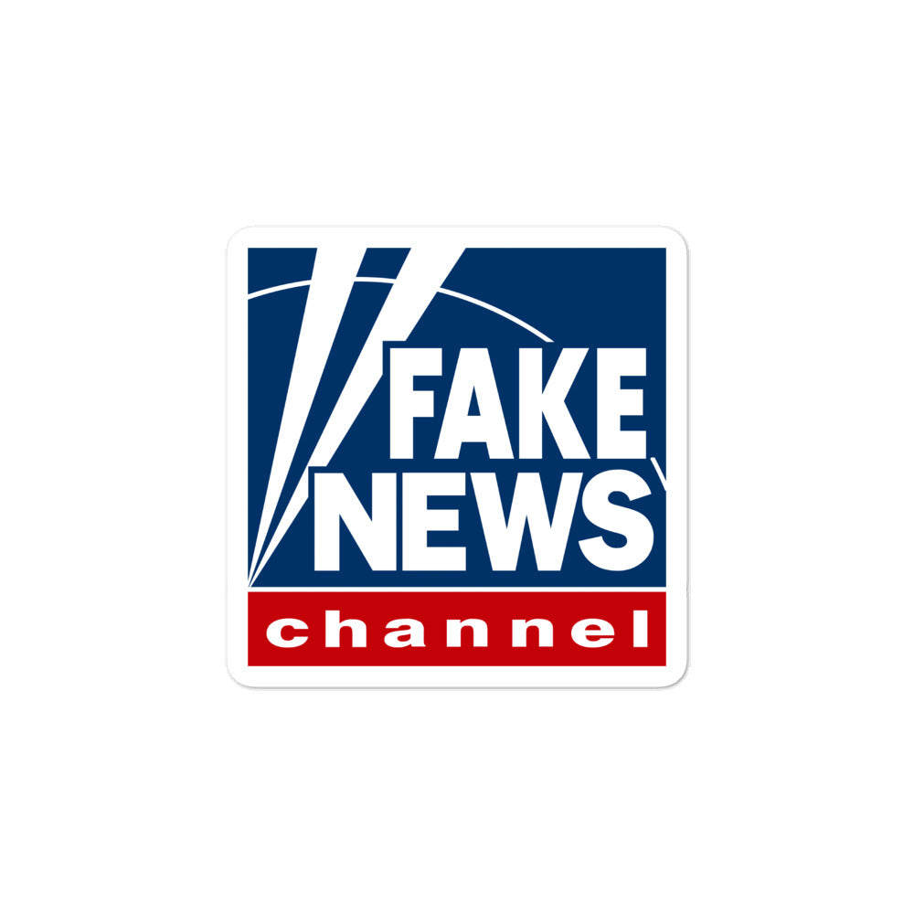 Fake News Channel Sticker - Fox News