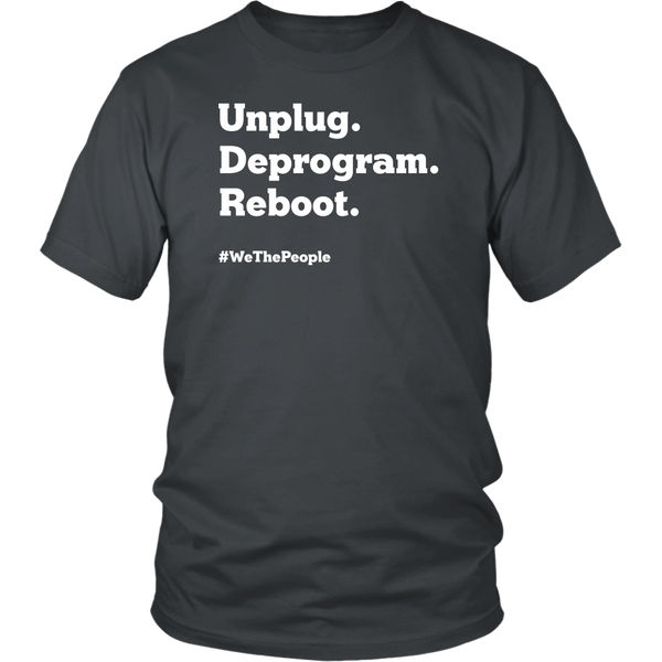 Unplug. Deprogram. Reboot. - THE MAGA SHOP