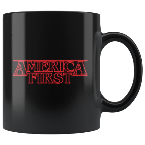 America First Mug (Stranger Things)