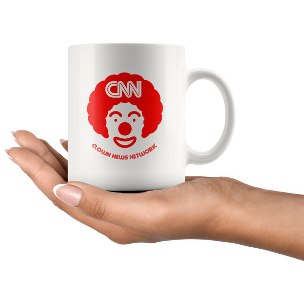 Clown News Network Mug