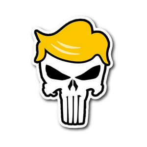 Trump Punisher Sticker