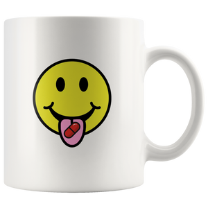 Red Pill Smiley Mug - THE MAGA SHOP