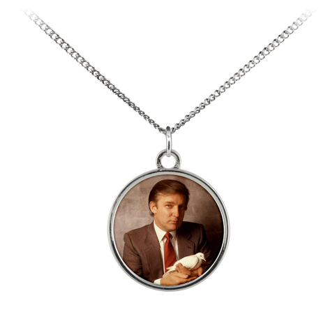 Trump Dove Necklace