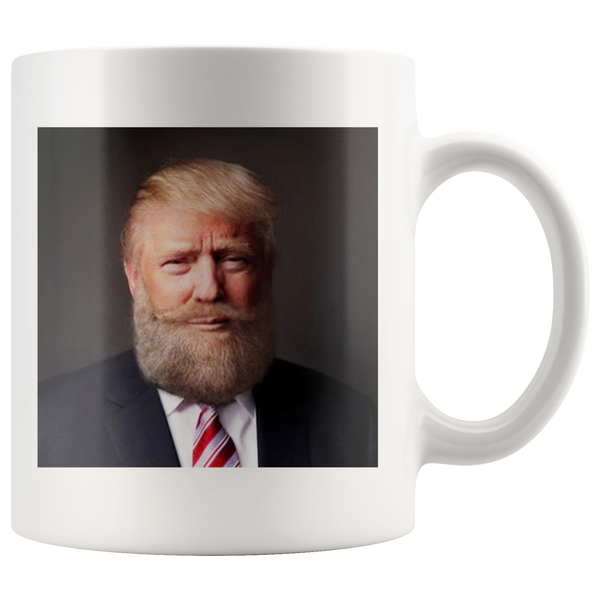 Bearded Trump Mug